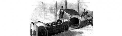 Пневматический транспорт прошлого